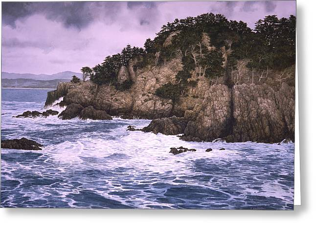 Across The Cove Greeting Card