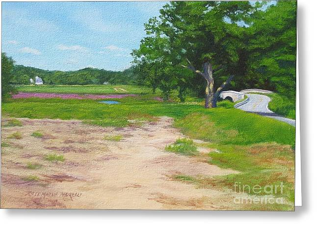 Across The Sudbury River Concord Massachusetts Greeting Card by Rosemarie Morelli