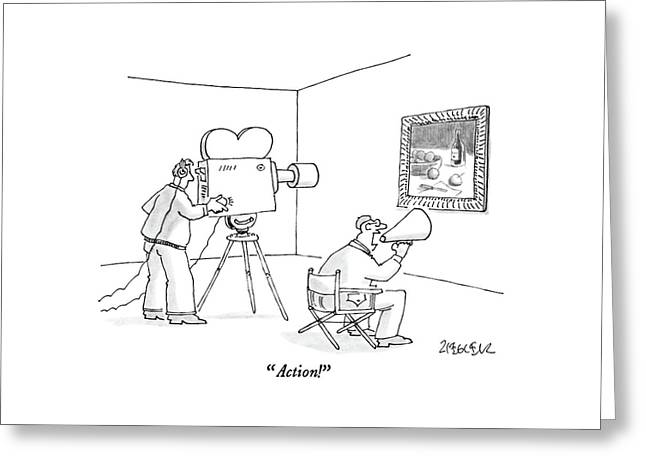 Action! Greeting Card