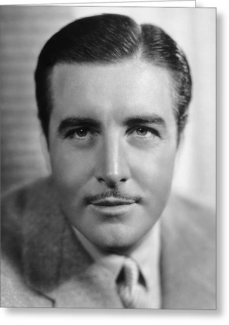 Actor John Boles Greeting Card by Underwood Archives