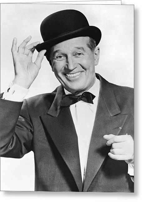 Actor Maurice Chevalier Greeting Card by Underwood Archives