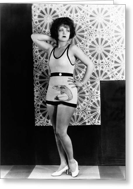 Actress Clara Bow Greeting Card