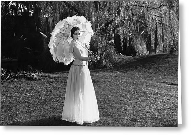 Actress Dolores Del Rio Greeting Card