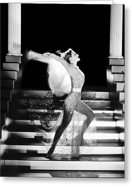Actress Joan Crawford Greeting Card by Underwood Archives