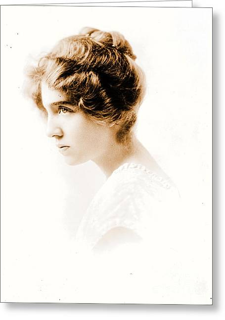 Actress Julie Herne C1900 Greeting Card by Padre Art