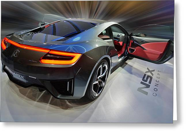 Acura N S X  Concept 2013 Greeting Card