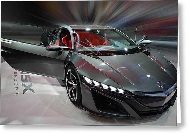 Acura Nsx Concept 2013 Greeting Card