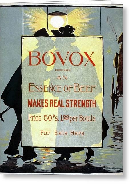 Ad Bovox, C1895 Greeting Card