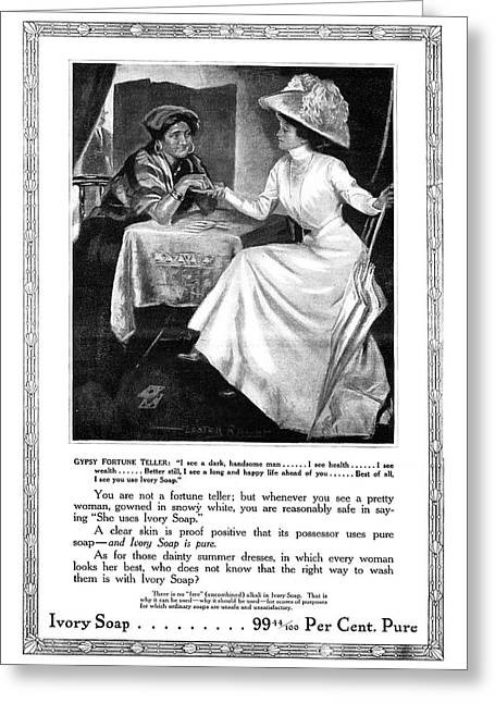 Ad Ivory Soap, 1911 Greeting Card by Granger