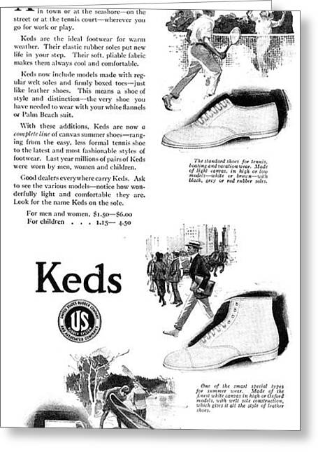 Ad Keds, 1920 Greeting Card by Granger