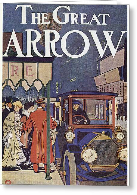 Ad Pierce-arrow, 1907 Greeting Card by Granger