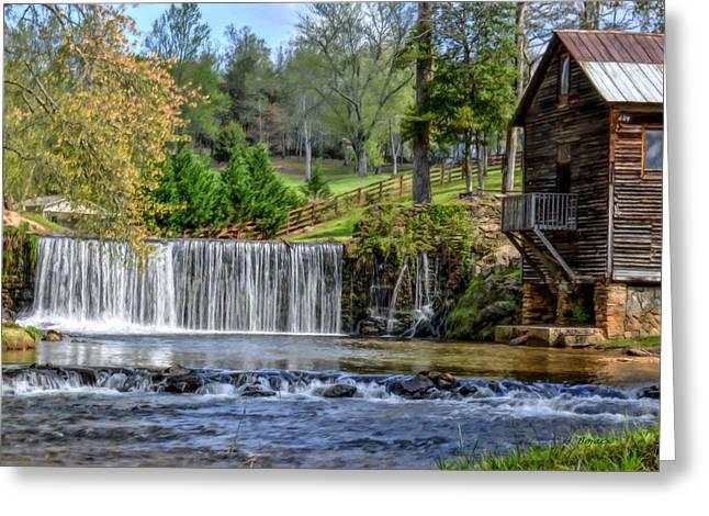 Adairs Mill Greeting Card by Bob Jackson