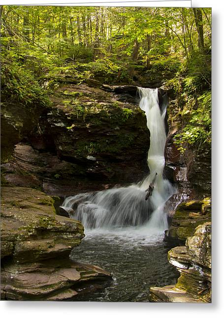 Adams Falls 0348 Greeting Card