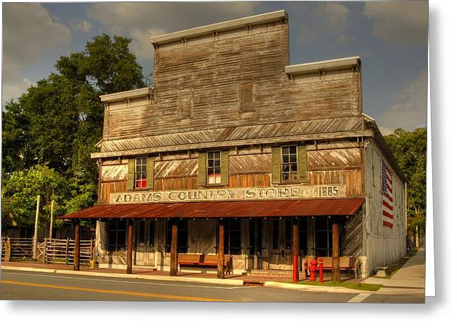 Adams Old Country Store Greeting Card