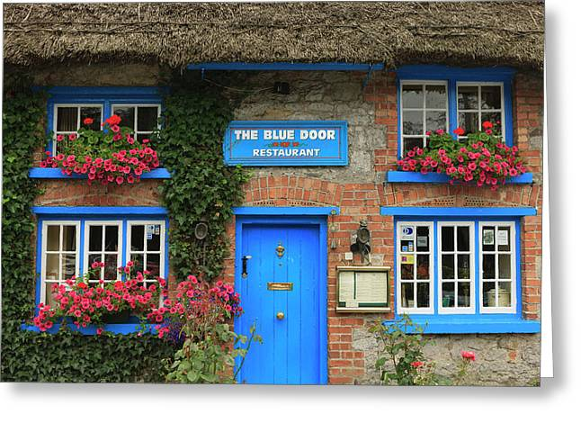 Adare County Limerick Ireland Store Greeting Card