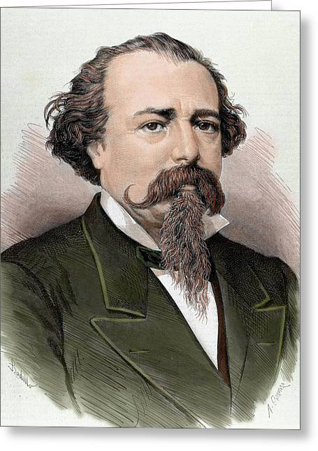 Adelardo Lopez De Ayala (1828-1879 Greeting Card by Prisma Archivo