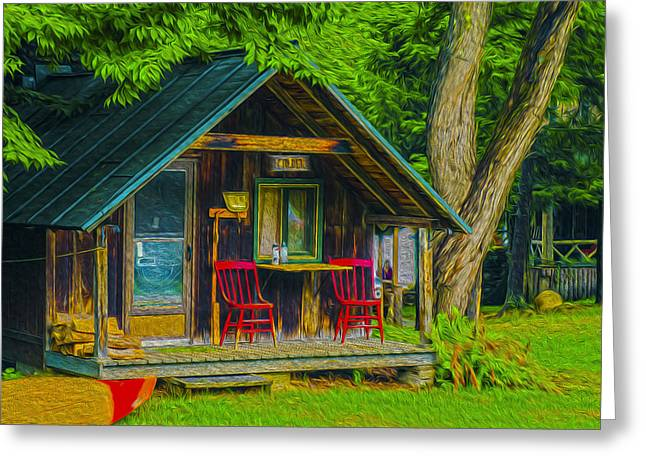 Adirondack Retreat Greeting Card