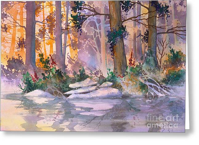 Admiralty Forest For Fran Greeting Card