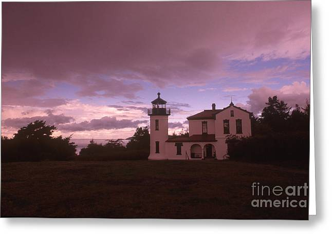 Admiralty Head Lighthouse, Wa Greeting Card