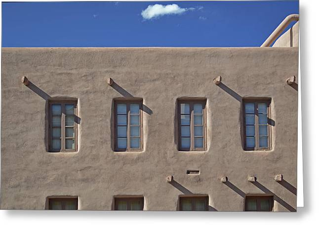 Adobe Architecture II Greeting Card