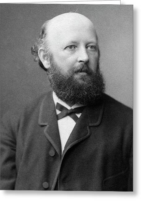 Adolf Von Baeyer Greeting Card by Chemical Heritage Foundation