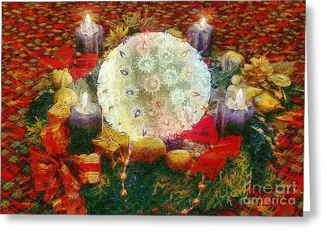 Advent  Greeting Card by Odon Czintos