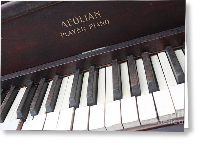 Aeolian Player Piano-3484 Greeting Card by Gary Gingrich Galleries