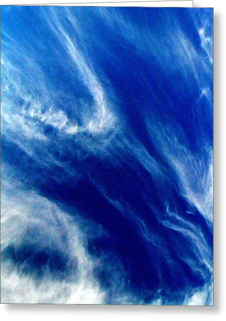 Greeting Card featuring the photograph Aerial Ocean by Carlee Ojeda