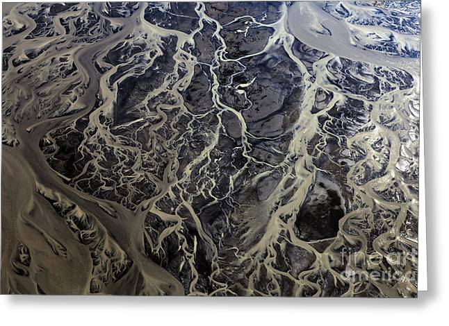 Greeting Card featuring the photograph Aerial Photography by Gunnar Orn Arnason