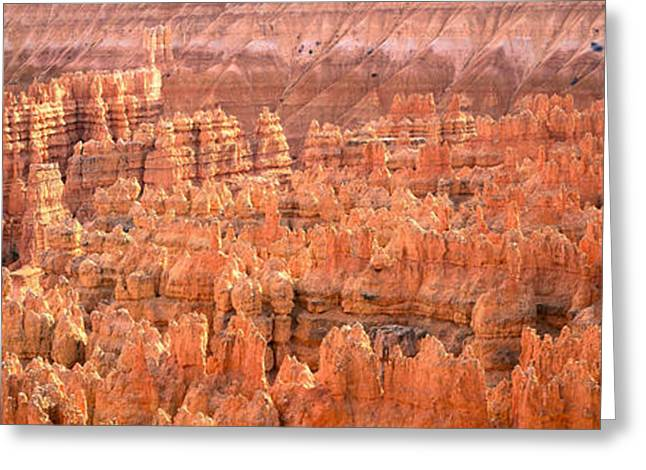 Aerial View Of The Grand Canyon, Bryce Greeting Card