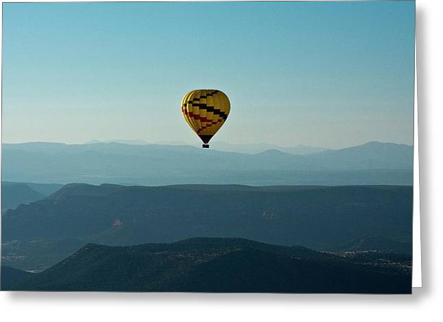 Aerial View, Red Rock Country, Sedona Greeting Card