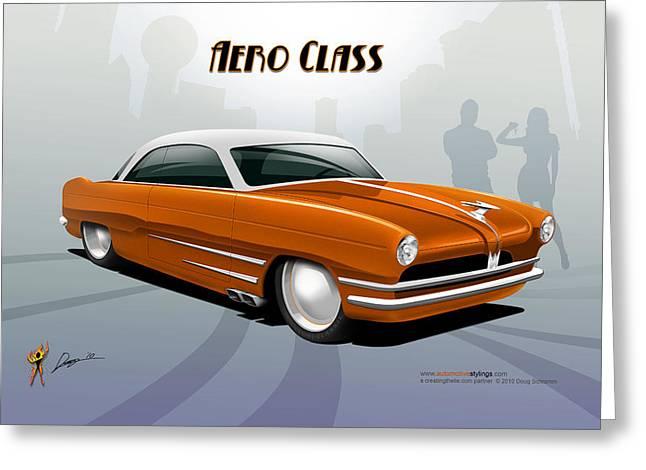 Aero Class Greeting Card