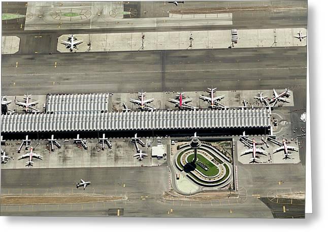 Aeropuerto T4 De Barajas Greeting Card