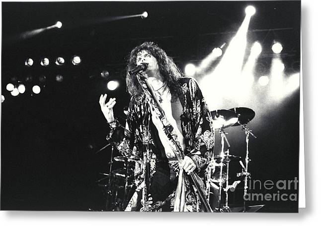 Aerosmith-steven-23 Greeting Card