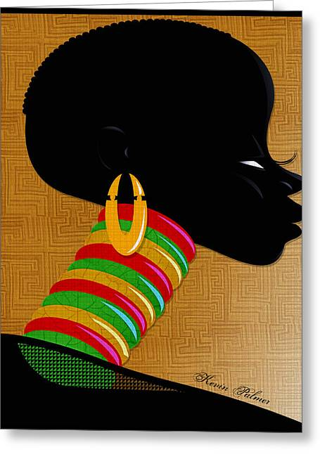 Africa Greeting Card by Kevin Palmer