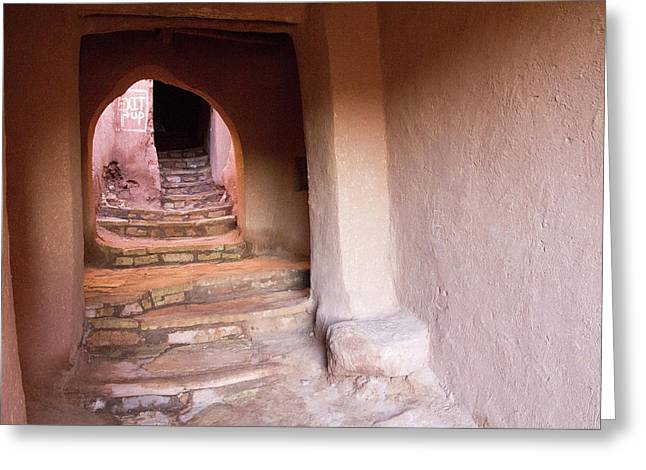 Africa, Morocco, Souss-massa-draa, Ait Greeting Card by Emily Wilson