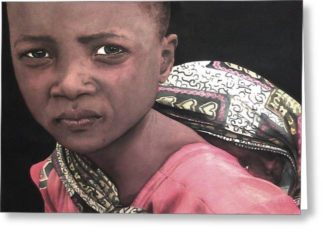 Africa Sisters Greeting Card