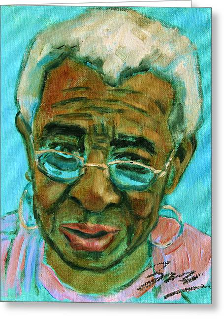 African American 6 Greeting Card