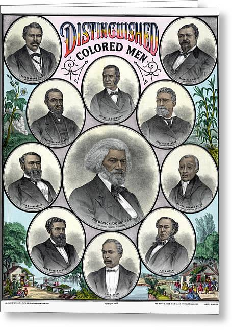 African Americans, C1883 Greeting Card by Granger