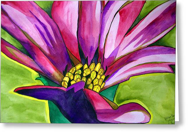African Daisy Greeting Card by Sacha Grossel