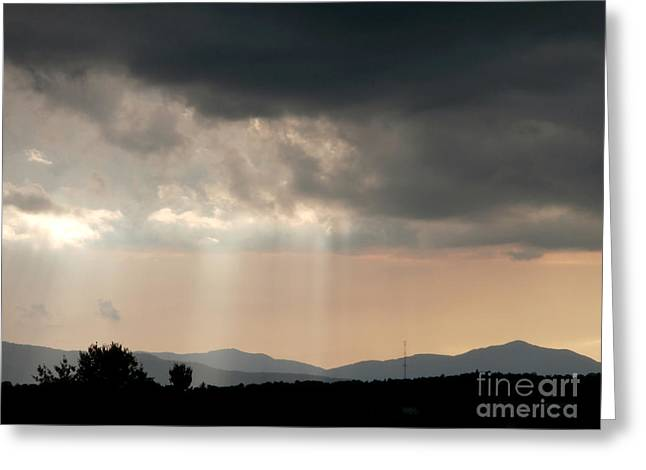 After A Rain Storm Greeting Card by Steven Valkenberg