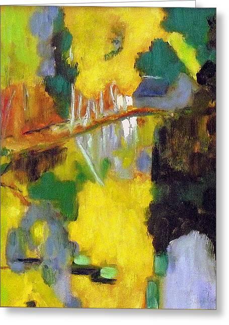 after Paul Serusier Greeting Card by Jodie Marie Anne Richardson Traugott          aka jm-ART