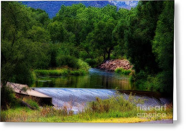 After Rain Greeting Card by Jon Burch Photography