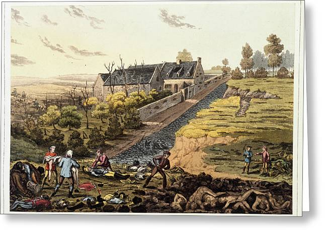 After The Battle Of Waterloo Greeting Card by British Library