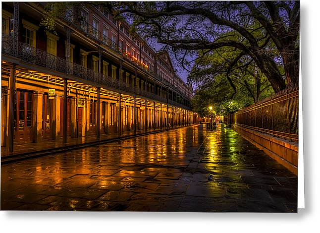 After The Rain Greeting Card by David Morefield