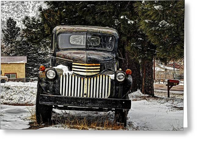 After The Snow Falls Greeting Card by Ken Smith