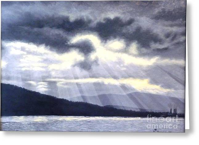 After The Storm Greeting Card by Beverly Theriault