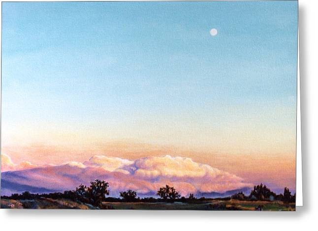 Greeting Card featuring the painting After The Storm by Craig T Burgwardt