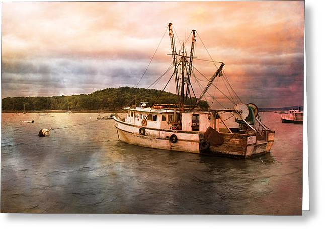 After The Storm Greeting Card by Betsy Knapp