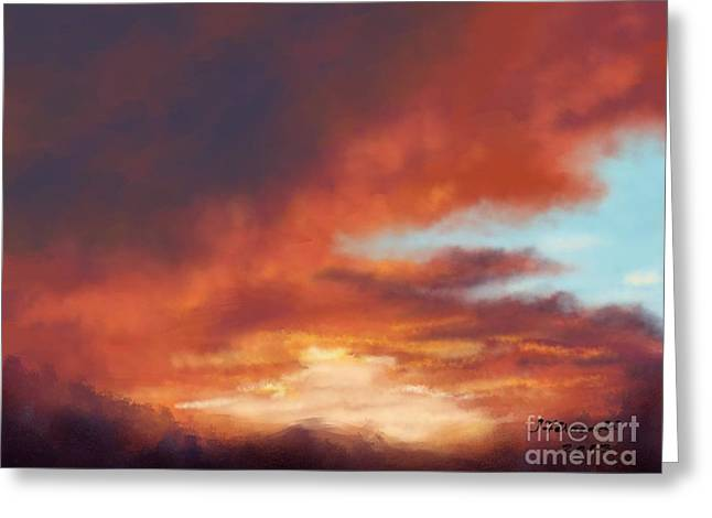 After The Storm Greeting Card by Judy Filarecki